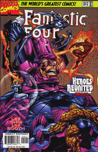 Cover Thumbnail for Fantastic Four (Marvel, 1996 series) #12 [Direct Edition]