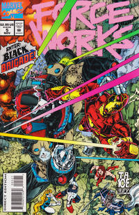 Cover Thumbnail for Force Works (Marvel, 1994 series) #5 [Direct Bagged Edition]