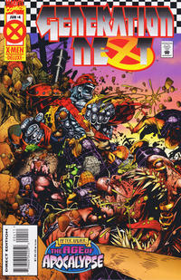 Cover Thumbnail for Generation Next (Marvel, 1995 series) #4 [Direct Edition]