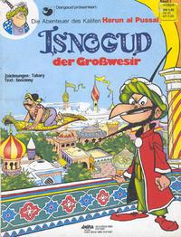 Cover Thumbnail for Isnogud (Egmont Ehapa, 1974 series) #1 - Isnogud der Großwesir