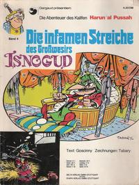 Cover Thumbnail for Isnogud (Egmont Ehapa, 1974 series) #4 - Die infamen Streiche des Großwesirs Isnogud