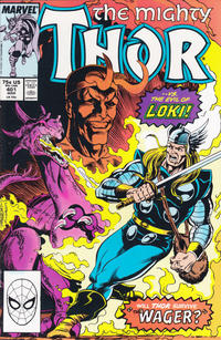 Cover Thumbnail for Thor (Marvel, 1966 series) #401 [Direct Edition]