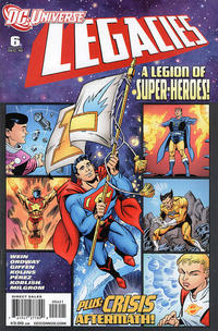 Cover for DCU: Legacies (DC, 2010 series) #6 [Regular Cover]