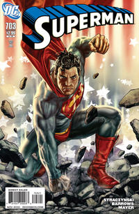 Cover for Superman (DC, 2006 series) #703 [Direct]