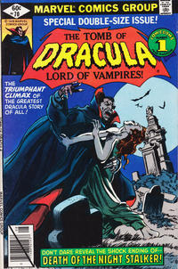 Cover Thumbnail for Tomb of Dracula (Marvel, 1972 series) #70 [Direct]
