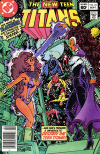 Cover Thumbnail for The New Teen Titans (DC, 1980 series) #23 [Newsstand]