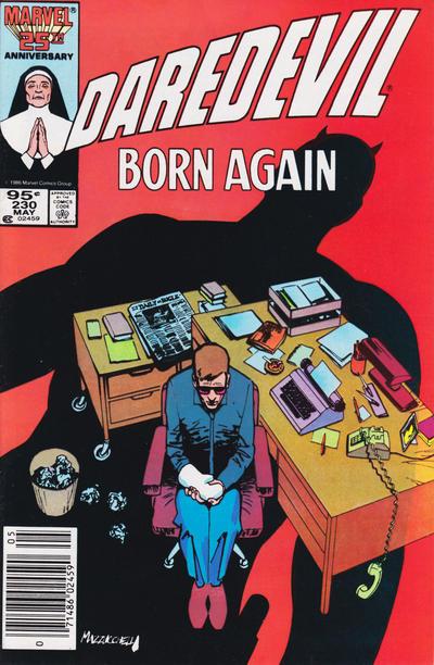 Cover for Daredevil (Marvel, 1964 series) #230 [Canadian]