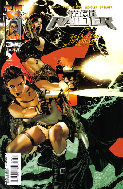 Cover for Tomb Raider: The Series (Image, 1999 series) #48 [Basaldua Cover]