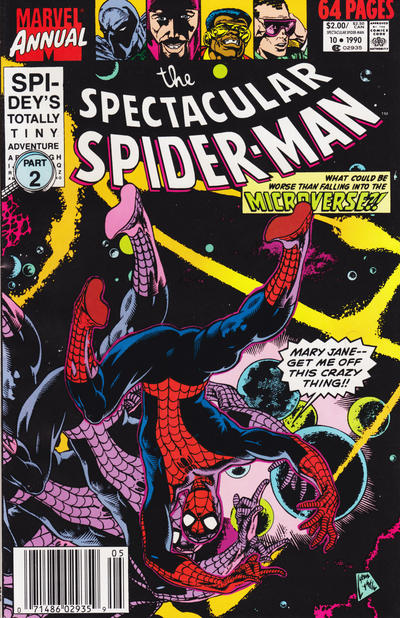 Cover for The Spectacular Spider-Man Annual (Marvel, 1979 series) #10 [direct]