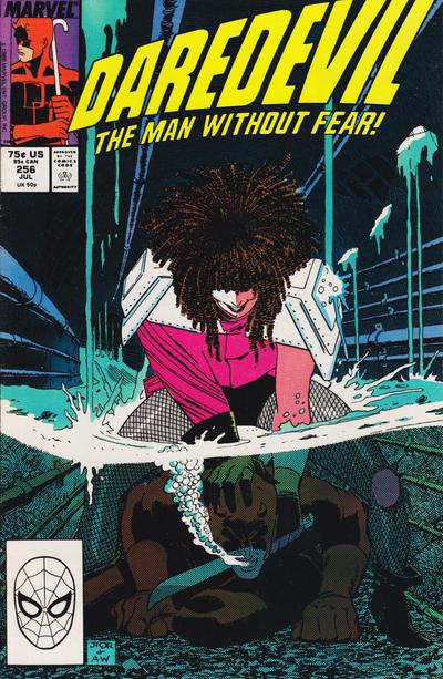 Cover for Daredevil (Marvel, 1964 series) #256 [Direct]