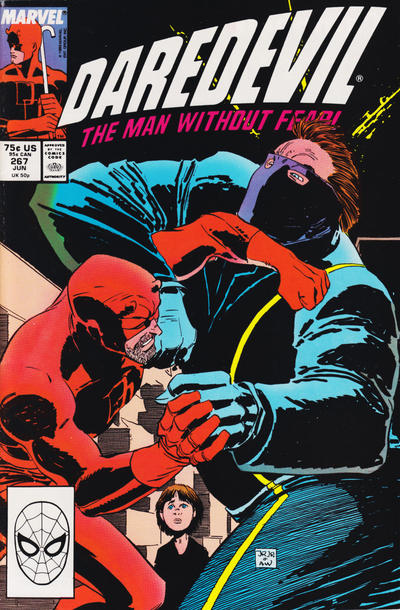 Cover for Daredevil (Marvel, 1964 series) #267 [J. C. Penney Variant]