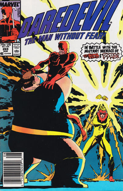 Cover for Daredevil (Marvel, 1964 series) #269 [Direct Edition]