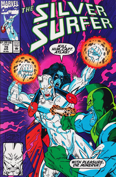 Cover for Silver Surfer (Marvel, 1987 series) #79 [Newsstand Edition]