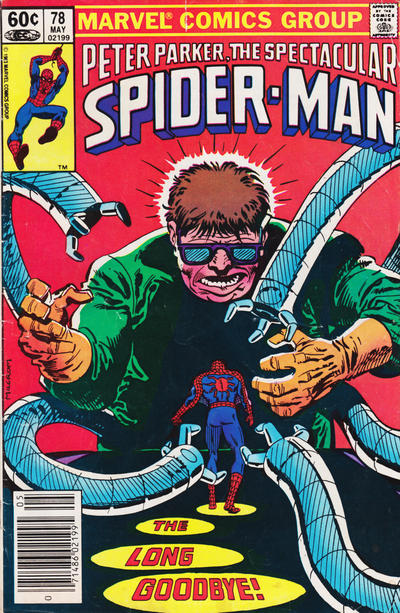 Cover for The Spectacular Spider-Man (Marvel, 1976 series) #78 [Direct Edition]