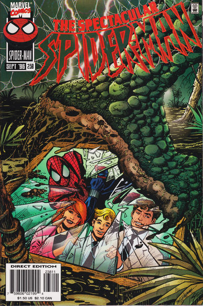 Cover for The Spectacular Spider-Man (Marvel, 1976 series) #238 [Direct Edition]