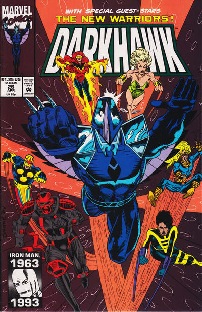 Cover for Darkhawk (Marvel, 1991 series) #26 [Direct]