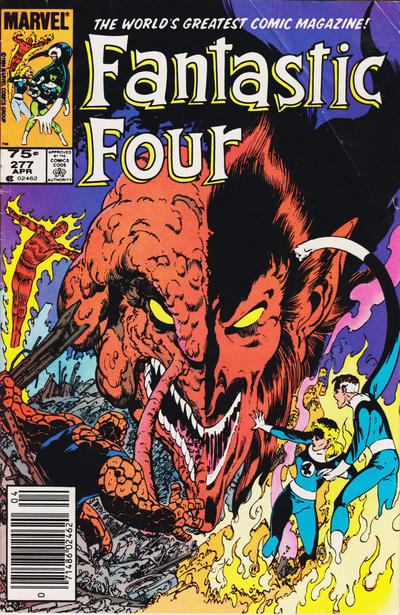 Cover for Fantastic Four (Marvel, 1961 series) #277 [Direct Edition]