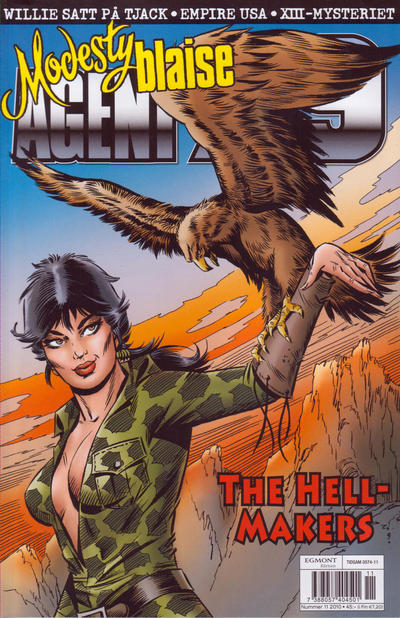 Cover for Agent X9 (Egmont, 1997 series) #11/2010