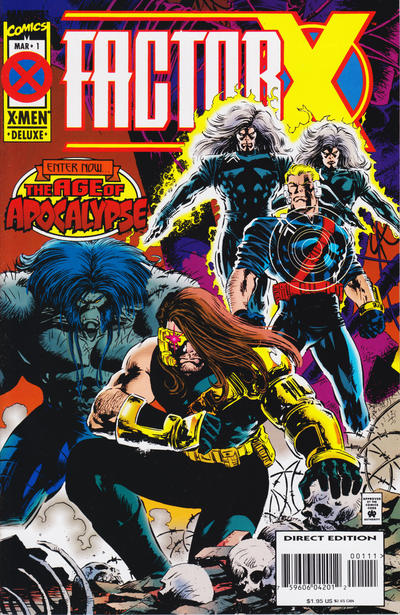 Cover for Factor X (Marvel, 1995 series) #1 [Direct Edition]