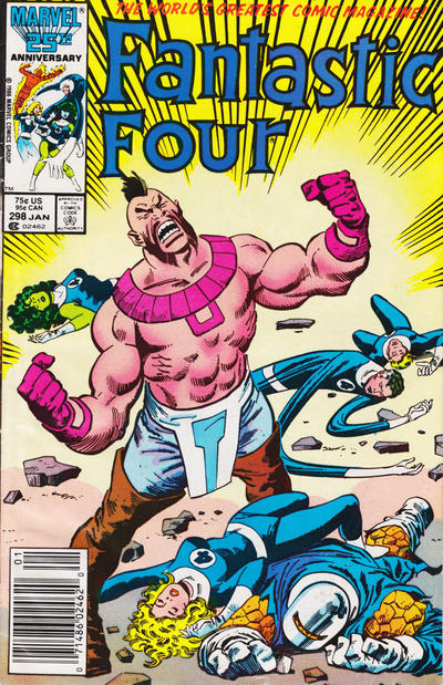 Cover for Fantastic Four (Marvel, 1961 series) #298 [Direct]