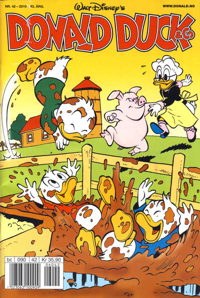 Cover for Donald Duck & Co (Hjemmet / Egmont, 1948 series) #42/2010