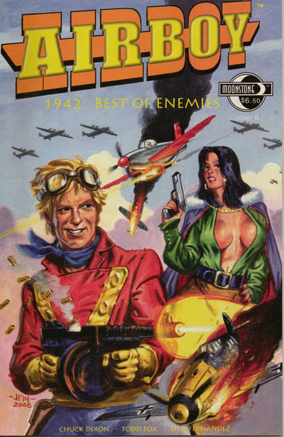 Cover for Airboy - 1942: Best of Enemies (Moonstone, 2009 series)  [Cover A]