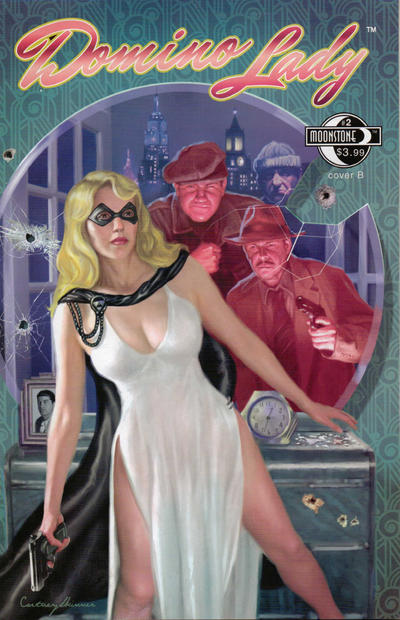 Cover for Domino Lady (Moonstone, 2009 series) #2