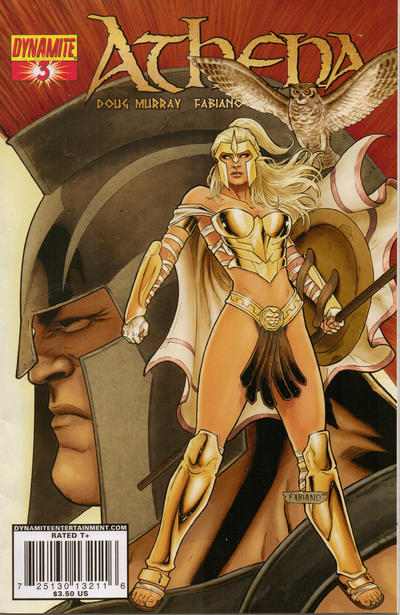 Cover for Athena (Dynamite Entertainment, 2009 series) #3 [Cover A Paul Renaud]