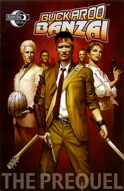 Cover for Buckaroo Banzai:  The Prequel (Moonstone, 2008 series) #1