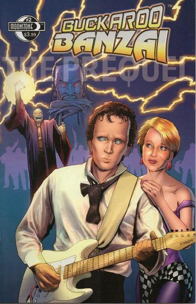 Cover for Buckaroo Banzai:  The Prequel (Moonstone, 2008 series) #2
