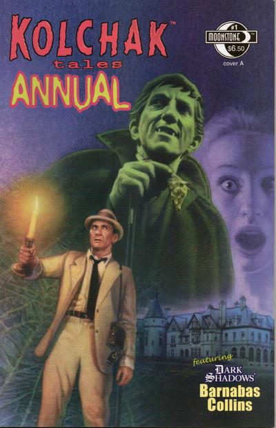 Cover for Kolchak Tales:  Night Stalker Annual (Moonstone, 2009 series) #1