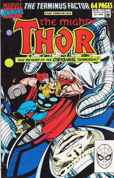 Cover for Thor Annual (Marvel, 1966 series) #15 [Newsstand]