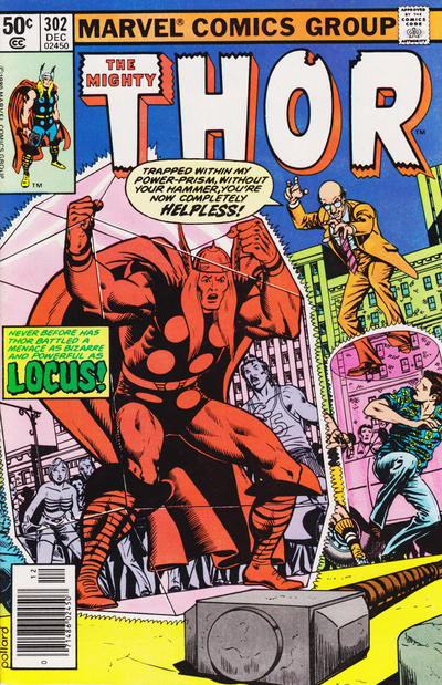 Cover for Thor (Marvel, 1966 series) #302 [direct edition]