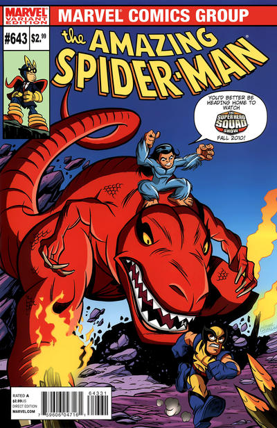 Cover for The Amazing Spider-Man (Marvel, 1999 series) #643