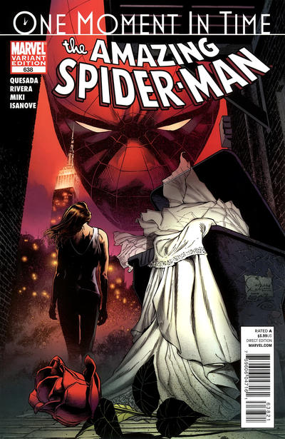 Cover for The Amazing Spider-Man (Marvel, 1999 series) #638
