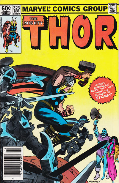 Cover for Thor (Marvel, 1966 series) #323 [Newsstand]