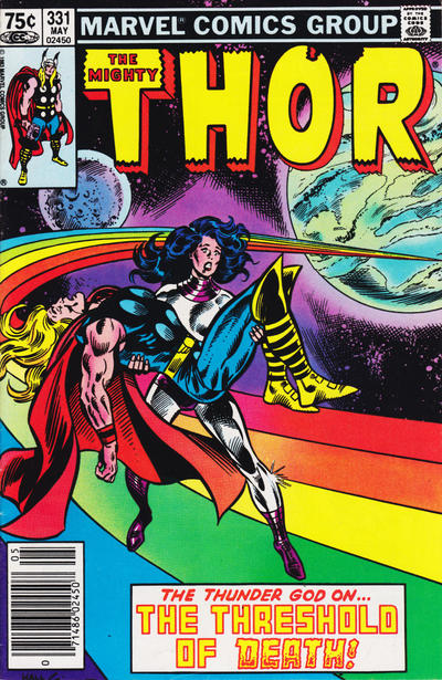 Cover for Thor (Marvel, 1966 series) #331 [Canadian newsstand edition]