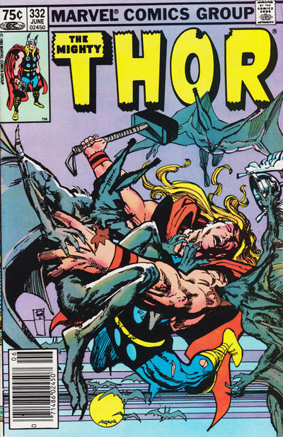 Cover for Thor (Marvel, 1966 series) #332 [Direct]
