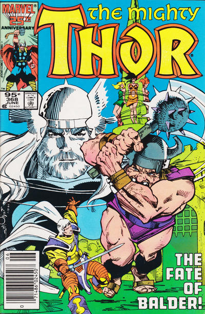 Cover for Thor (Marvel, 1966 series) #368 [Canadian Price Variant]