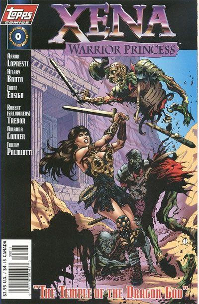 Cover for Xena: Warrior Princess (Topps, 1997 series) #0 [Art Cover]