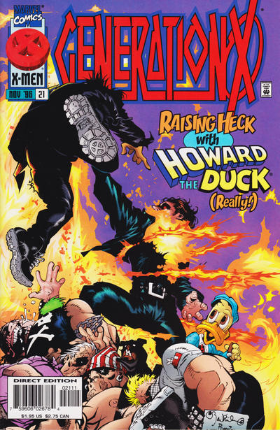 Cover for Generation X (Marvel, 1994 series) #21 [Direct Edition]