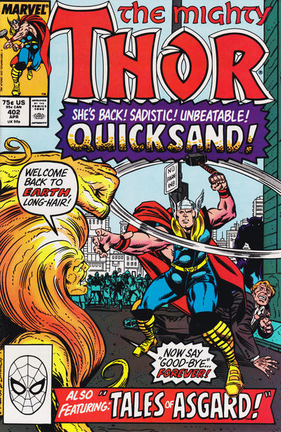 Cover for Thor (Marvel, 1966 series) #402 [Direct]