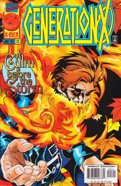 Cover for Generation X (Marvel, 1994 series) #23 [Newsstand Edition]
