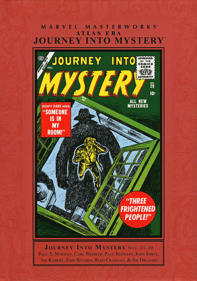 Cover for Marvel Masterworks: Atlas Era Journey Into Mystery (Marvel, 2008 series) #3 (147) [Limited Variant Edition]