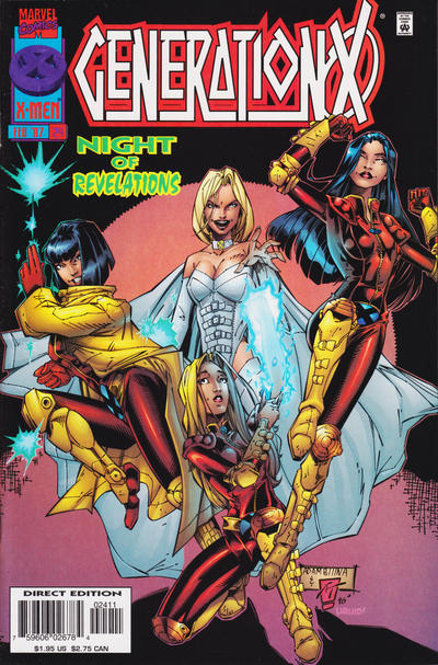 Cover for Generation X (Marvel, 1994 series) #24 [Direct Edition]
