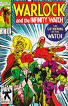Cover for Warlock and the Infinity Watch (Marvel, 1992 series) #2 [Direct]