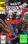Cover for Web of Spider-Man (Marvel, 1985 series) #53 [Direct]