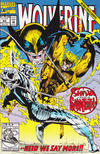 Cover for Wolverine (Marvel, 1988 series) #60 [Direct Edition]