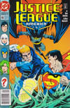 Cover Thumbnail for Justice League America (1989 series) #66 [Newsstand]
