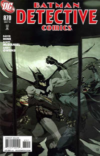Cover Thumbnail for Detective Comics (DC, 1937 series) #870